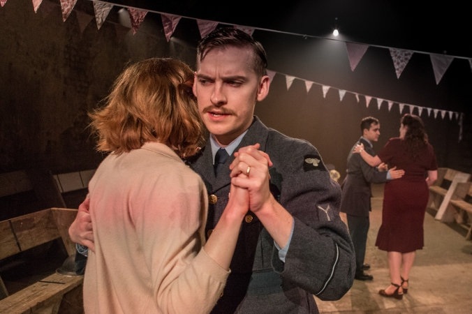 Leila Sykes and Matthew Biddulph in Think of England, credit of Ali Wright