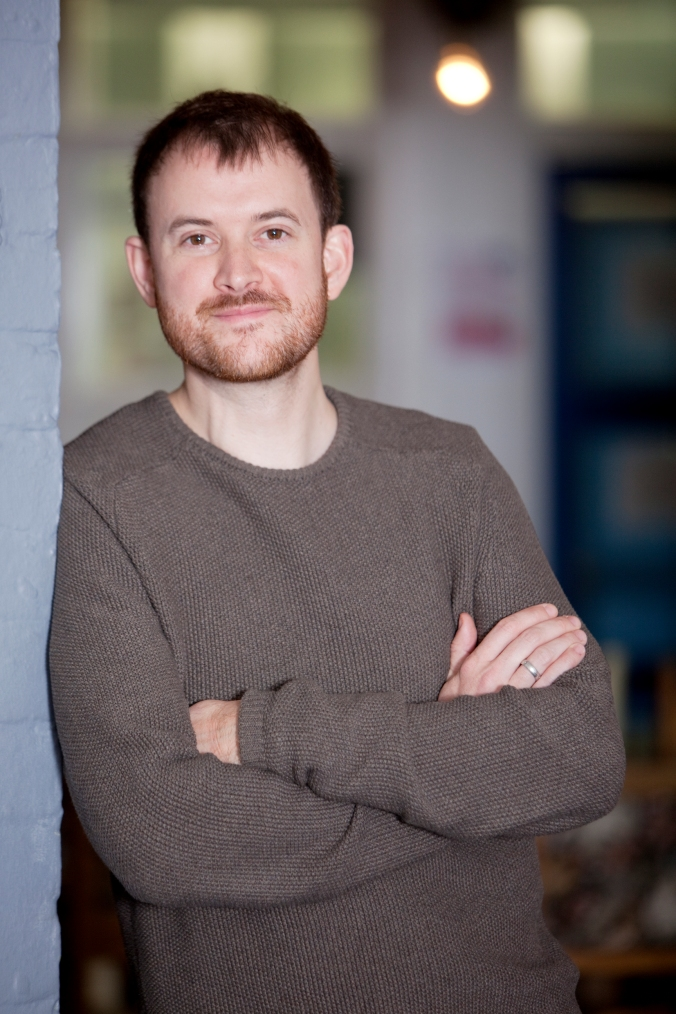 Owen Calvert-Lyons, Head of Theatre and Artist Development at Ovalhouse (credit Ludovic Des Cognets) 11.jpg