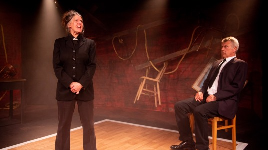 Shenagh Govan and Euan Macnaughton in I AM OF IRELAND, credit of Michael Robinson