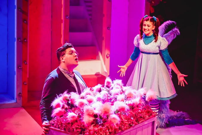 Scott Paige and Amy Perry (Seussical The Musical, Southwark Playhouse) - courtesy of Adam Trigg